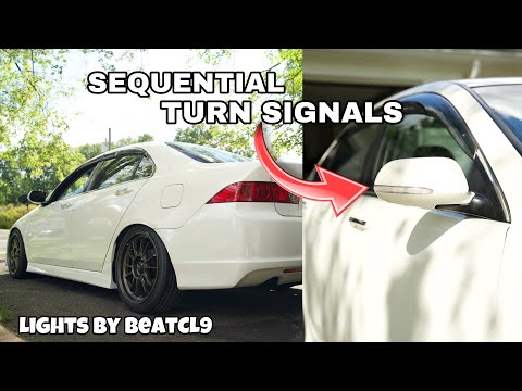 HOW TO: Acura TSX Sequential Light Side Mirror Install – DIY