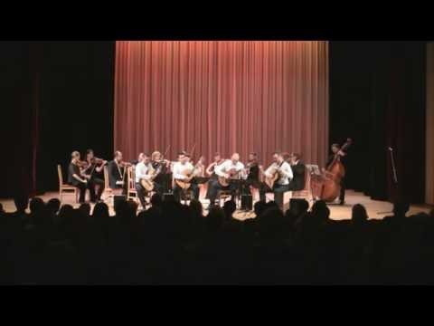 Baltic Guitar Quartet with Senoji CAMERATA - C.Ruebens - Stories of a common man