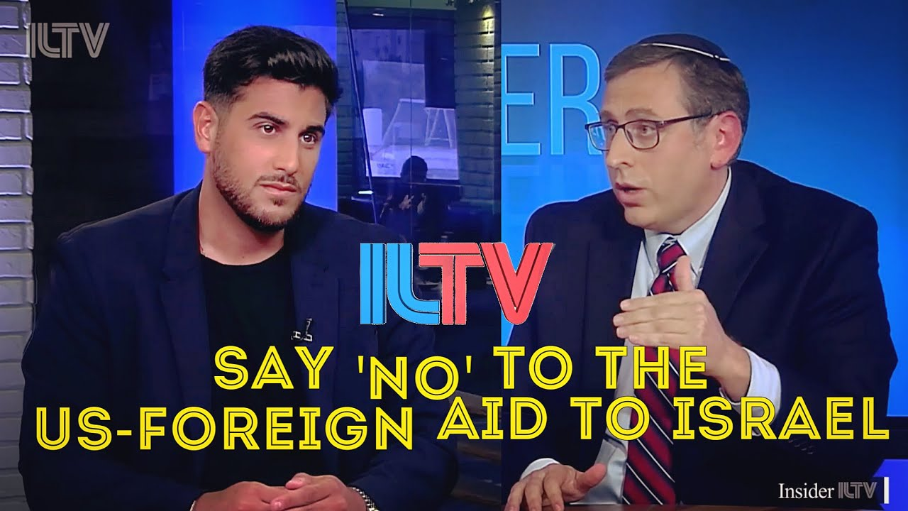 Say 'No' To The US-Foreign Aid To Israel