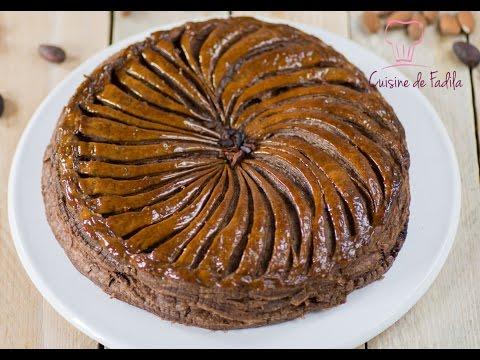 galette-des-rois-chocolat-et-poire-فطيرة-الملوك-بالشوكولاتة-والاجاص