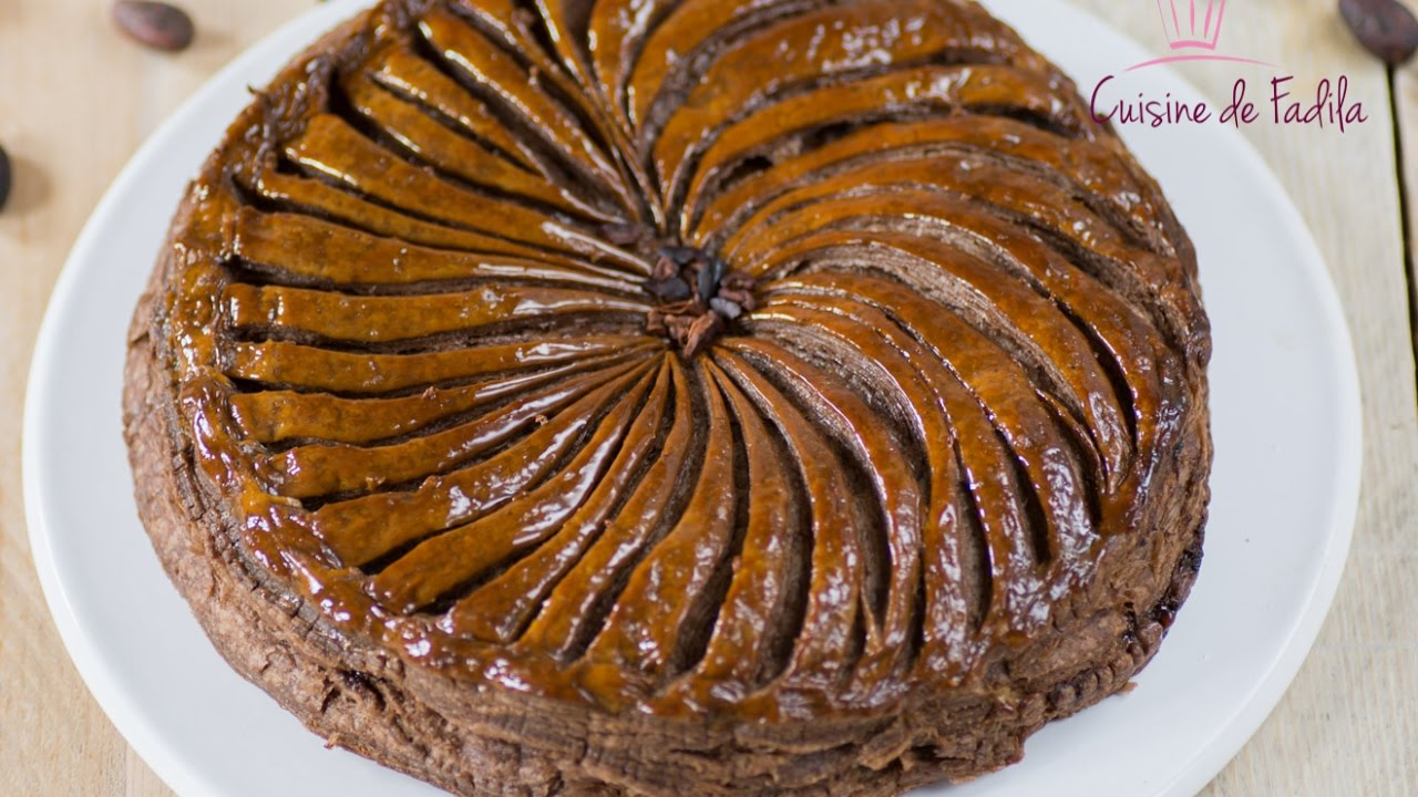 Galette des rois chocolat et poire - Poire de terre cuisine ...