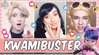 Cosplayers React to Miraculous Ladybug - Kwamibuster 🐭