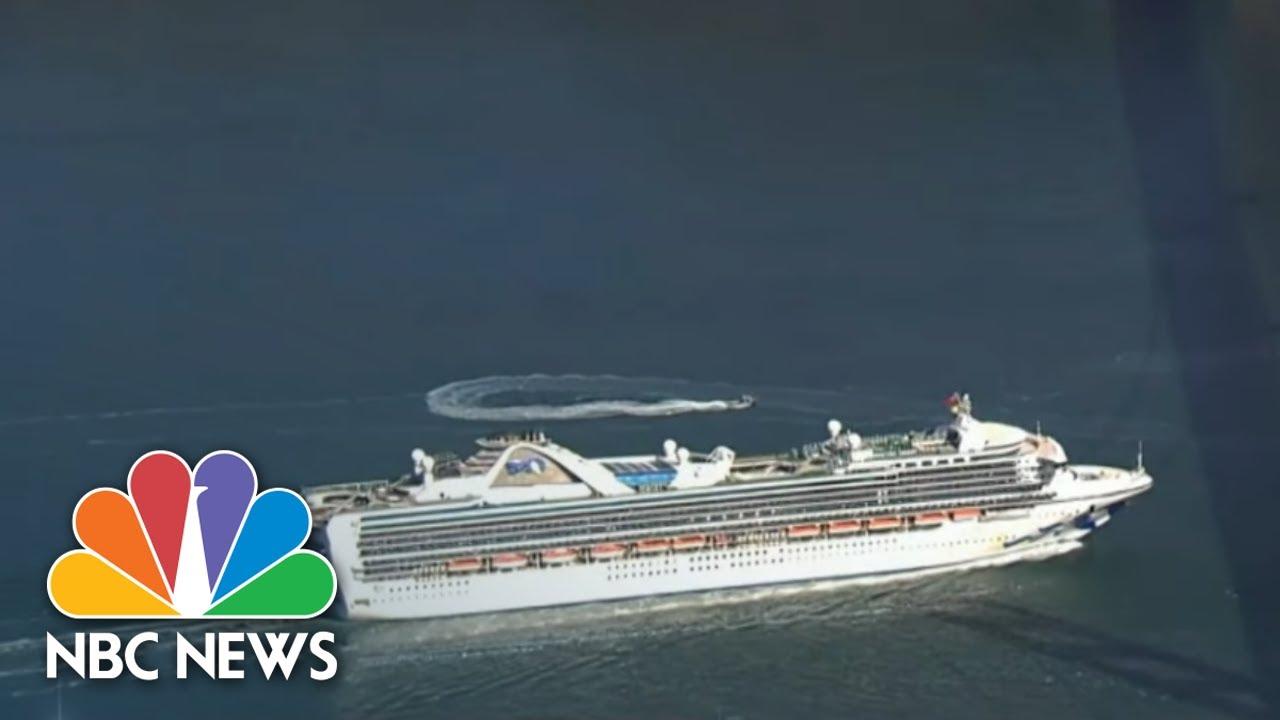 Coronavirus: Cruise Ship Carrying People With Coronavirus Docks In California   NBC Nightly News