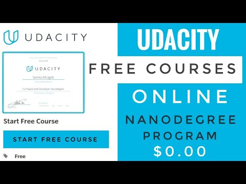 Udacity Free Courses | Free Certificates | Lockdown 2.0