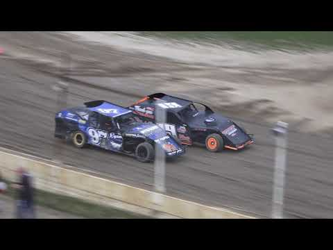 I.M.C.A. Heat Race #2 at Crystal Motor Speedway, Michigan on 08-31-2019!