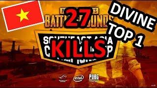 [Highlights] GAME 7 - Chung Kết PUBG SEA - DIVINE bắn cả thế giới Top 1 với 27 Kills