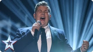 Kyle Tomlinson performs Adele's When We Were Young | Semi-Final 1 | Britain's Got Talent 2017