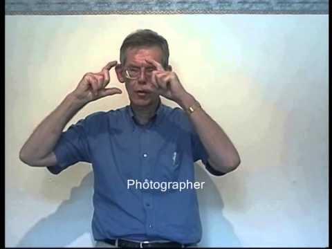 British Sign Language - A Beginner's Vocabulary