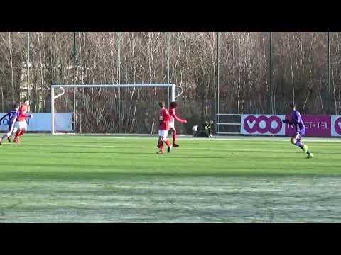 U14 Elite Standard De Liége   R S C  Anderlecht 19 01 20191