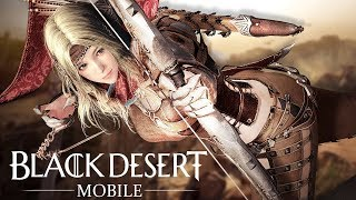 """Black Desert Mobile (2018) - """"Boring Auto-Pathing MMO""""...Clicking Simulator! (First Impressions)"""