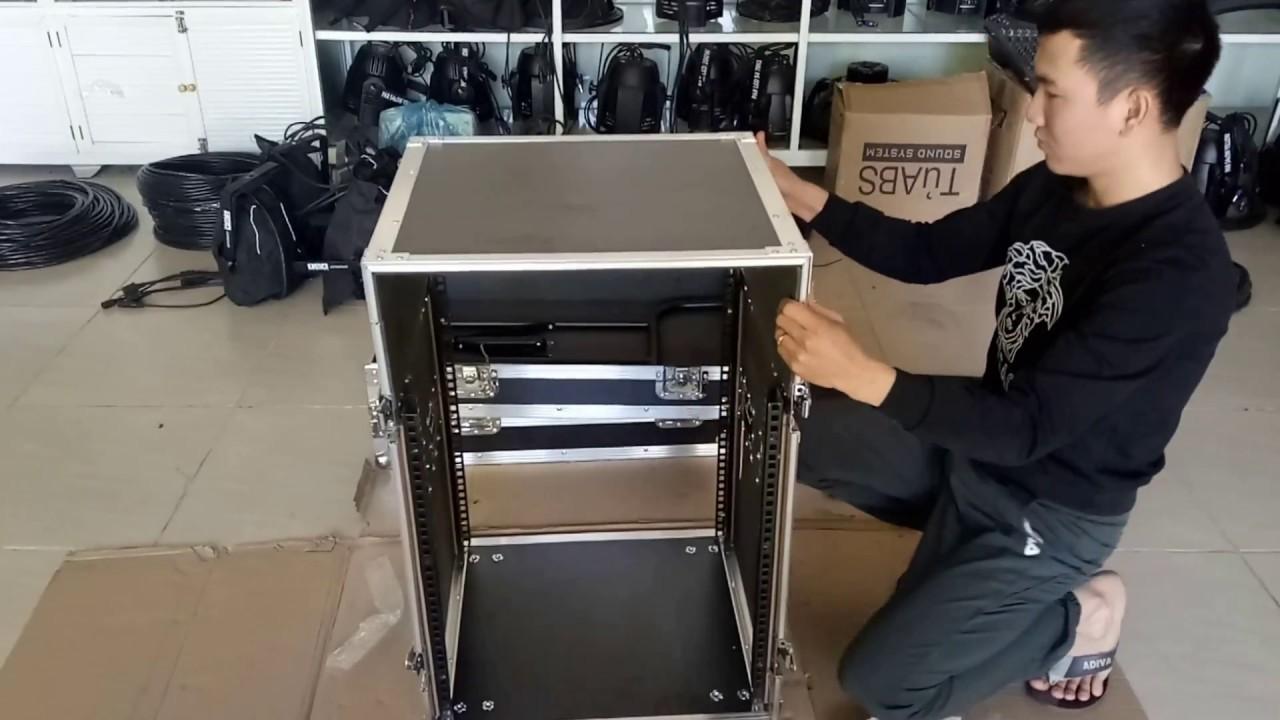 Hướng dẫn lắp tủ máy âm thanh