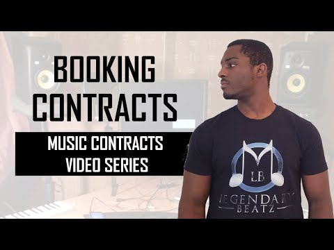 Booking Contracts and Shows for Independent Artists