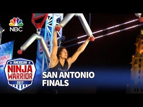 Daniel Gil at the San Antonio City Finals  American Ninja Warrior 2017