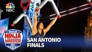 Daniel Gil at the San Antonio City Finals - American Ninja Warrior 2017