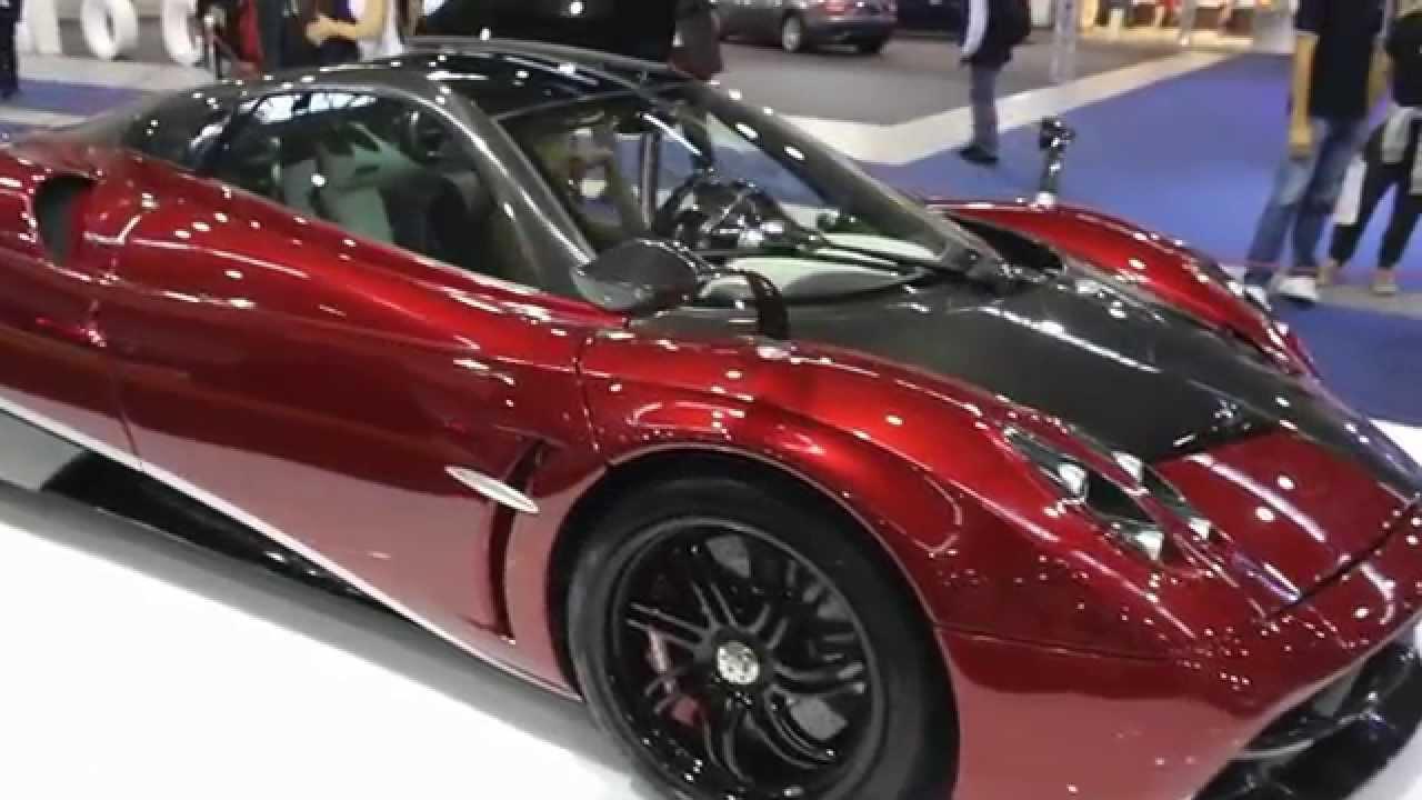 Pagani Huayra Top Car - Mercedes-AMG Engine - YouTube