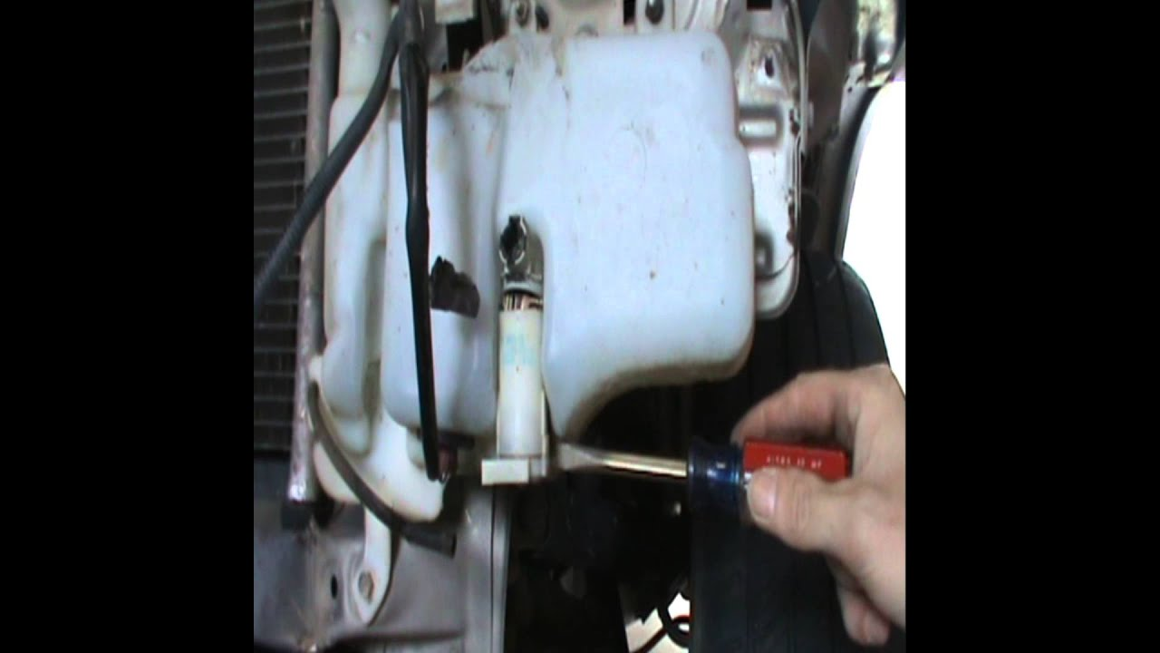 2007 E350 Fuse Diagram Replacing Windshield Washer Pump Youtube