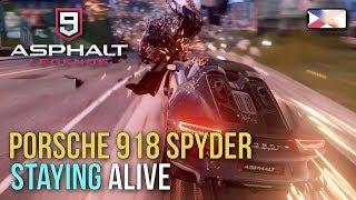 ASPHALT 9: LEGENDS - Porsche 918 Spyder Staying Alive in Multiplayer