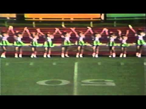 1989 Mesquite PeeWee Eagles Drillteam Zone Championship