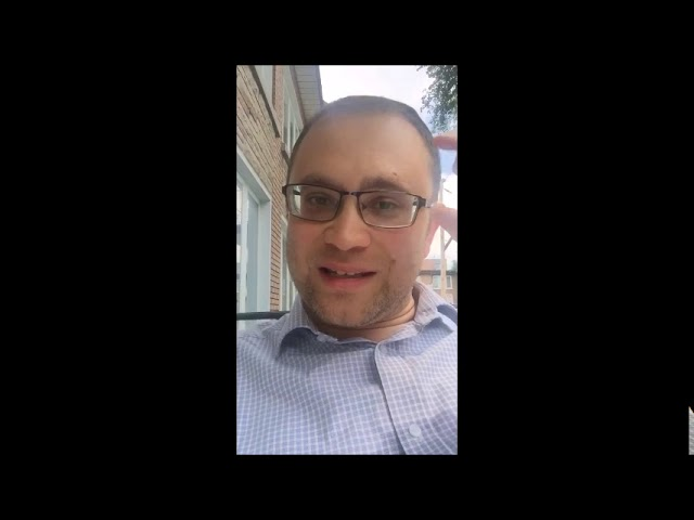 Video Message from Rabbi Knopf - July 9, 2020