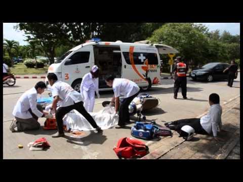 งานอุบัติเหตุฉุกเฉิน โรงพยาบาลมหาวิทยาลัยเทคโนโลยีสุรนารี จ.นครราชสีมา