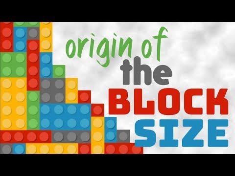 The Origin of the Maximum Block Size