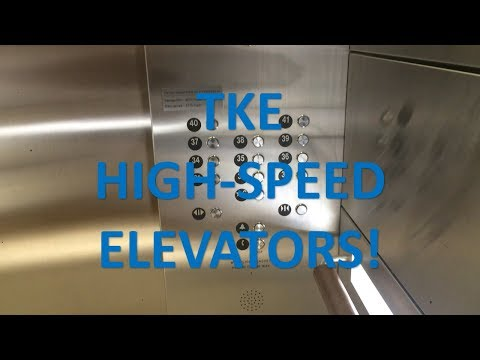 ThyssenKrupp High-Speed Elevators @ the RBC Centre (High-Rise)