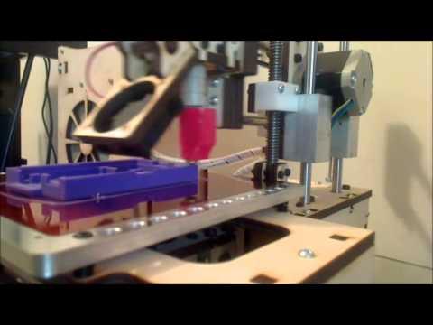 3d printing a RaspberryPi Case - Time Lapse