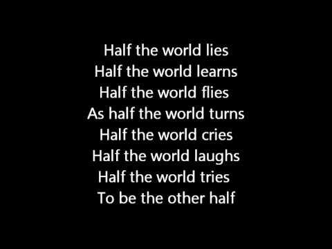 Rush-Half The World (Lyrics)