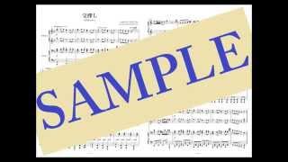 楽譜はこちら→https://www.dlmarket.jp/products/detail/269838 4手連弾...