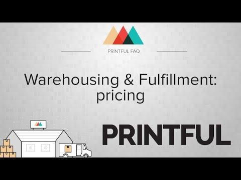 Warehousing & Fulfillment: Pricing FAQ