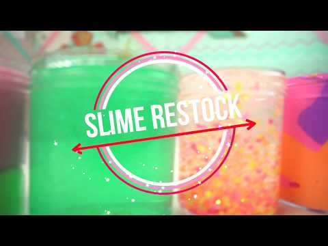 WiSH UPON A STAR ETSY SLIME SHOP RESTOCK🌟 JUNE 5TH!! NEW SUMMER THEMED SLIMES!!