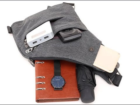 Small Shoulder Backpack - YouTube 2a7b2cec57a54