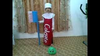 Abdulla in Fancy Dress Competition in Unaizah International School KSA