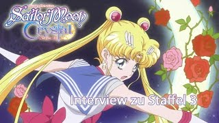 Sailor Moon Crystal - Staffel 3 auf Deutsch (Interview)