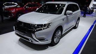 2019 Mitsubishi Outlander PHEV Plug in Hybrid - Exterior and Interior - Geneva Motor Show 2018
