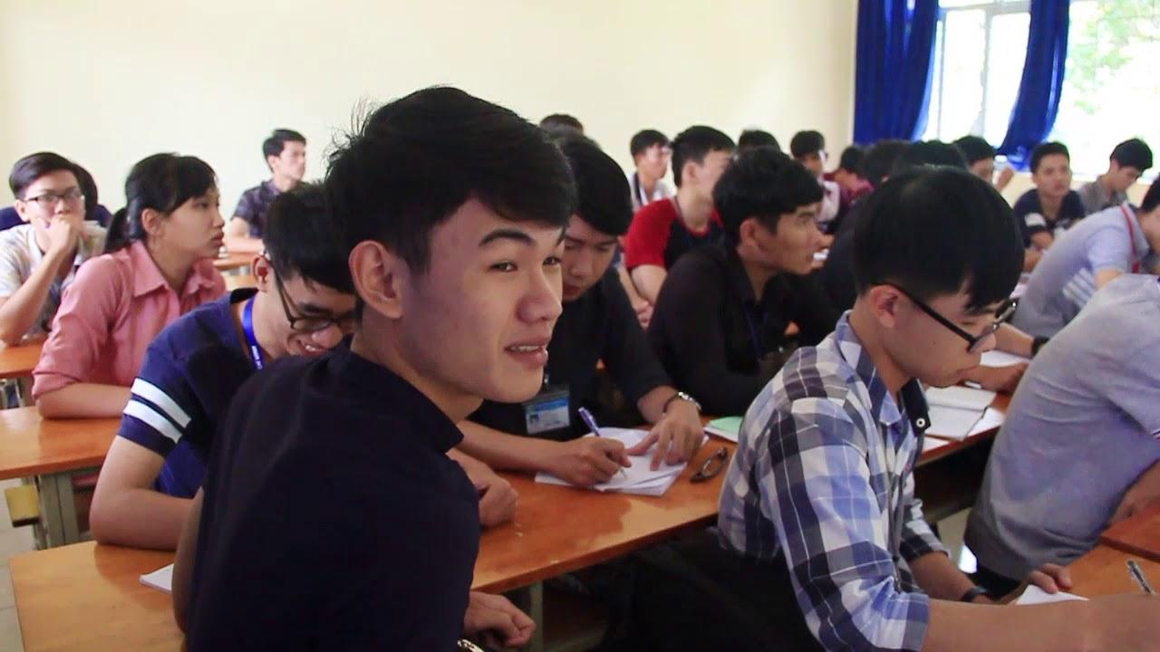 Giờ học Môn Tin học Thầy Hải Bằng | Các môn học ở trường Giao thông | 2017.08.29.(13)
