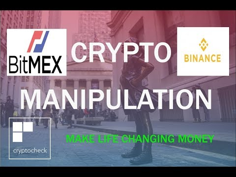 Binance And Bitmex Manipulation - Trade With The Whales