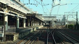 札幌発上野行きの上り寝台特急「カシオペア」12号車サロンカーからの...