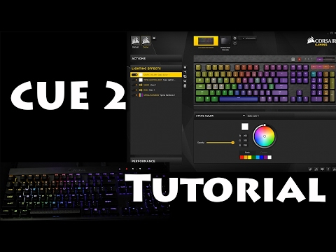 Corsair Utility Engine 2 Tutorial/Guide
