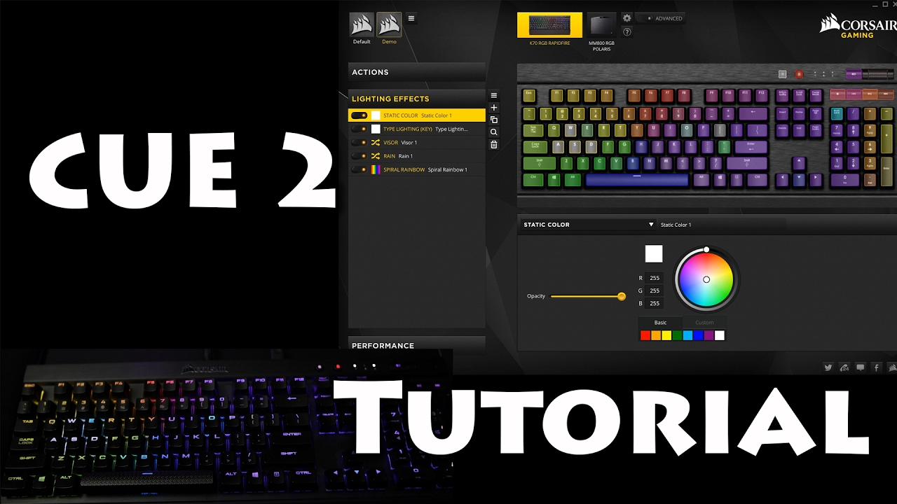 Corsair Utility Engine 2 Tutorial Guide Youtube