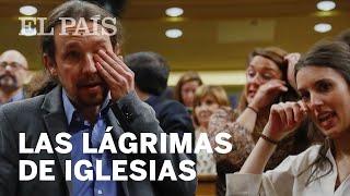 INVESTIDURA | Las lágrimas de Pablo Iglesias
