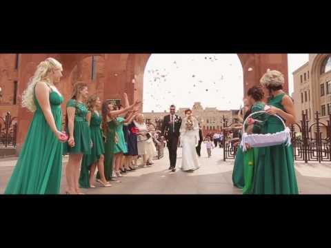 Весёлая армянская свадьба в Москве (Тамада Юрий Тунян)