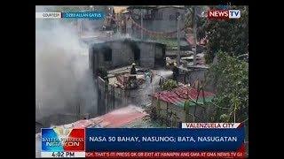 BP: Nasa 50 bahay, nasunog sa Valenzuela City; bata, nasugatan
