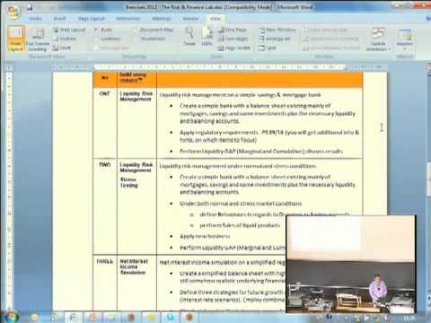 Risk & Finance Lab  Presentation of Tasks. Willi Brammertz. University of Zurich