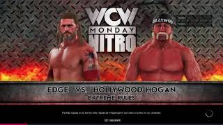 Edge vs Hollywood Hogan