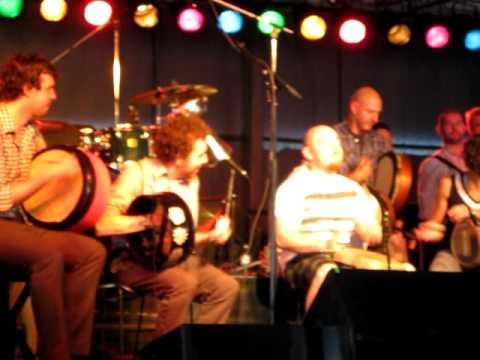Michigan Irish Music Fest 2011 Tionol Percussion Set