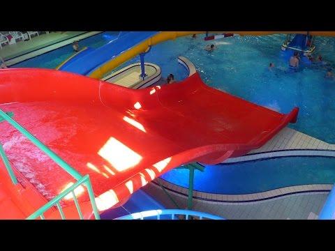 rote Breitrutsche :: Wave Slide | Topas Spaßbad Schloss Dankern (Haren/Ems)