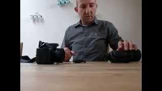 Een fototoestel monteren op een Swarovski Optik NC2 nachtkijker