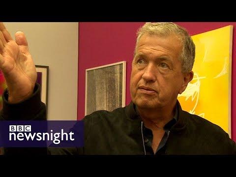 Mario Testino: 'I'm useless with cameras' – BBC Newsnight
