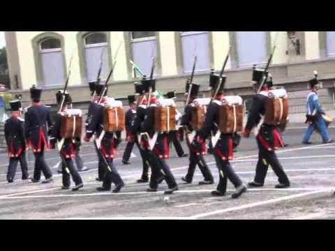 Démo parade des Mousquetaires Vaudois